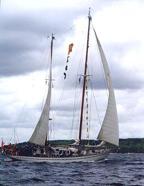 Urania, Volker Gries, Sail Flensburg 2000 / Cutty Sark 2000 , 08/2000