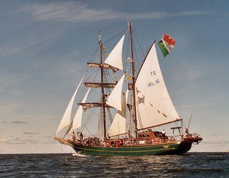 Asgard II, Werner Jurkowski, Sail Esbjerg / Cutty Sark 2001 , 08/2001