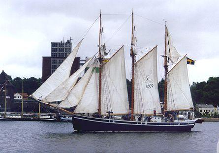 Westkust, Volker Gries, Sail Flensburg 2000 / Cutty Sark 2000 , 08/2000