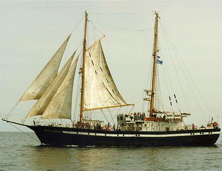 Yunyj Baltiets, Volker Gries, Hanse Sail Rostock 1998 , 08/1998