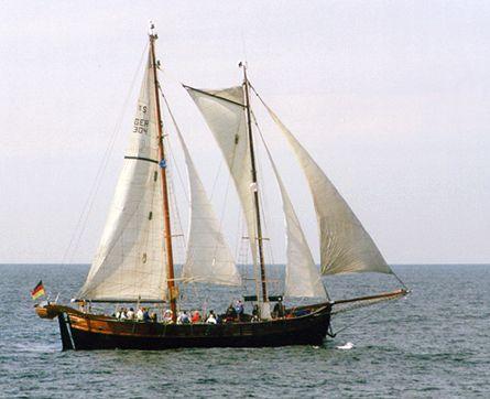 Qualle, Volker Gries, Hanse Sail Rostock 2000 , 08/2000
