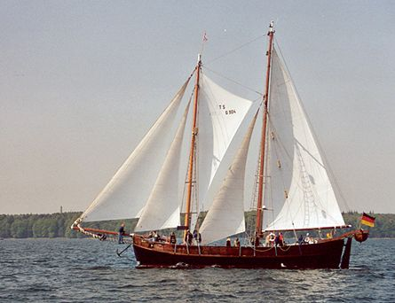 Qualle, Volker Gries, Rum-Regatta 2002 , 05/2002