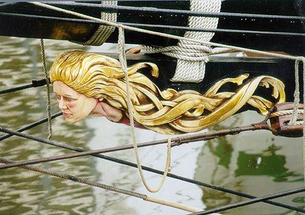 La Recouvrance, Volker Gries, Sail Bremerhaven 2000 , 09/2000