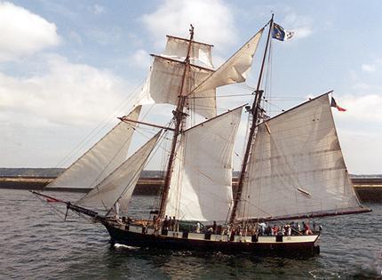 La Recouvrance, Volker Gries, Sail Brest / Cutty Sark 2002 , 07/2002