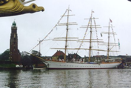 Schulschiff Deutschland, Volker Gries, Sail Bremerhaven 2000 , 09/2000
