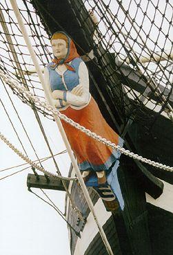 Seute Deern, Volker Gries, Sail Bremerhaven 2000 , 09/2000