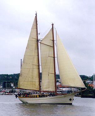 Silver Spray, Volker Gries, Sail Flensburg 2000 / Cutty Sark 2000 , 08/2000