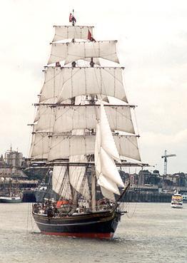 Stad Amsterdam, Werner Jurkowski, Sail Antwerpen 2001 / Cutty Sark 2001 , 07/2001