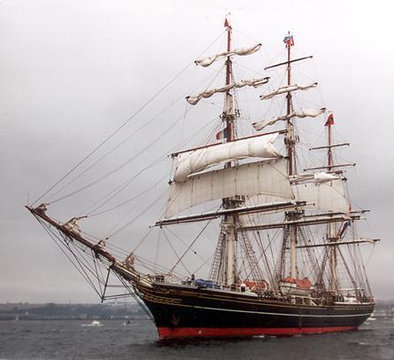 Stad Amsterdam, Volker Gries, Sail Brest / Cutty Sark 2002 , 07/2002