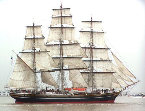 Stad Amsterdam, Thomas Albert, Sail Bremerhaven 2005 , 08/2005