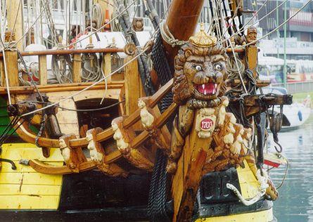 Shtandart, Volker Gries, Sail Bremerhaven 2000 , 09/2000
