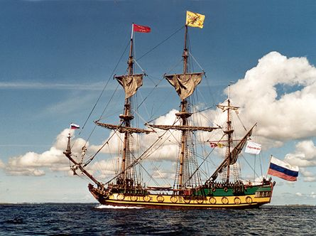 Shtandart, Werner Jurkowski, Sail Esbjerg / Cutty Sark 2001 , 08/2001