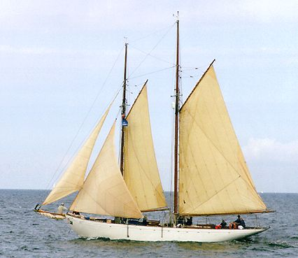 Vera Mary, Volker Gries, Hanse Sail Rostock 2000 , 08/2000