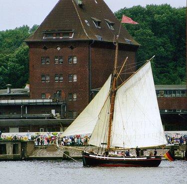 Freja, Volker Gries, Sail Flensburg 2000 / Cutty Sark 2000 , 08/2000