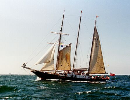 Sir Winston Churchill, Volker Gries, Hanse Sail 1996 / Cutty Sark 1996 , 08/1996