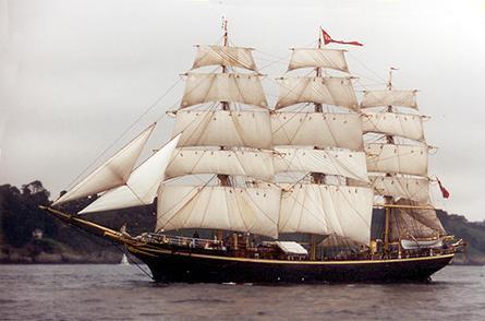 Georg Stage, Volker Gries, Sail Brest / Cutty Sark 2002 , 07/2002