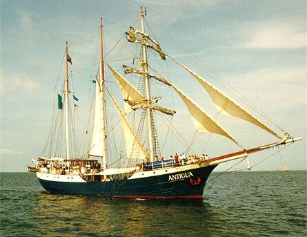 Antigua, Volker Gries, Hanse Sail Rostock 1998 , 08/1998
