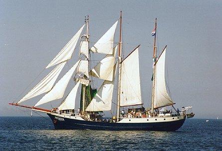 Antigua, Volker Gries, Hanse Sail Rostock 1997 , 08/1997
