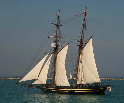 HMS Tecumseth, Steve Tompkins, Chicago , 08/2000