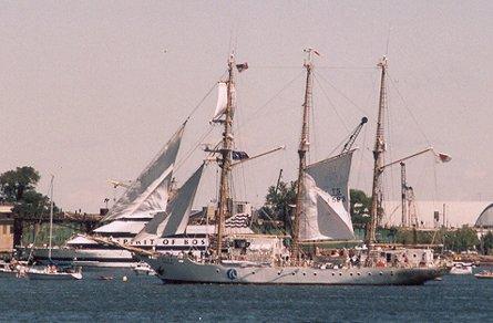 Akogare, Werner Jurkowski, Sail Boston 2000 , 07/2000