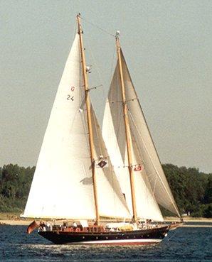 Aschanti IV of Vegesack, Werner Jurkowski, Kieler Förde , 06/1994