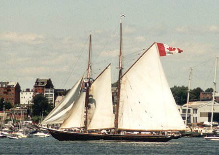 Bluenose II, Werner Jurkowski, Sail Boston 2000 , 07/2000