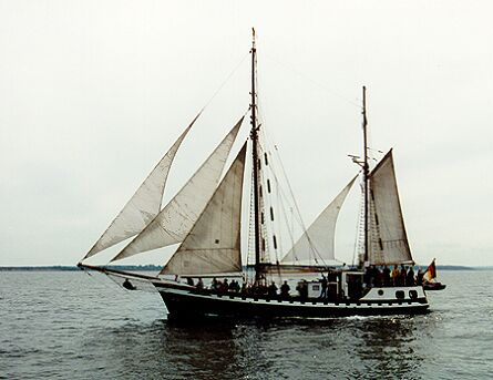 Atlantic, Volker Gries, Hanse Sail 1996 / Cutty Sark 1996 , 08/1996
