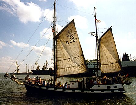 Atlantic, Volker Gries, Hanse Sail Rostock 1997 , 08/1997