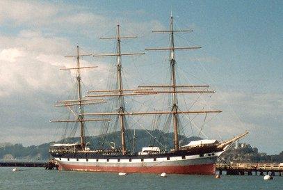 Balclutha, Werner Jurkowski, San Fransisco , 05/1989
