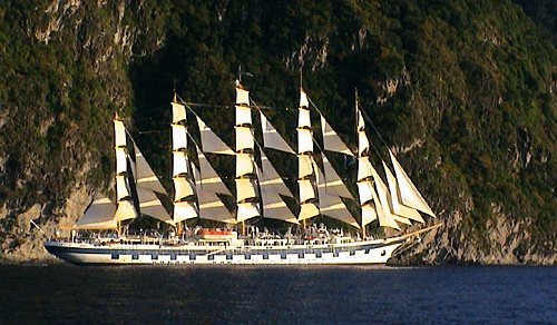 Royal Clipper, Timm Weski, St. Lucia , 12/2011