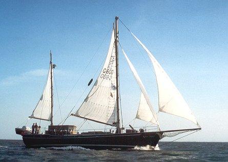 Roter Sand, Navigator sail training e.V., Nordsee , 07/1999