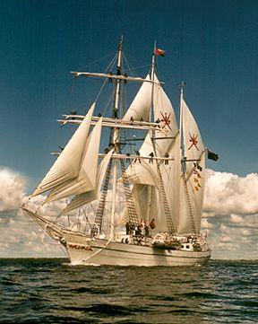Shabab Oman, Werner Jurkowski, Sail Esbjerg / Cutty Sark 2001 , 08/2001