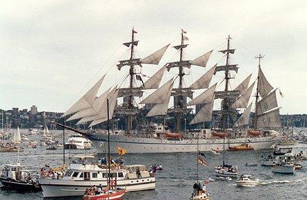 Nippon Maru II, Werner Jurkowski, Sydney , 01/1988