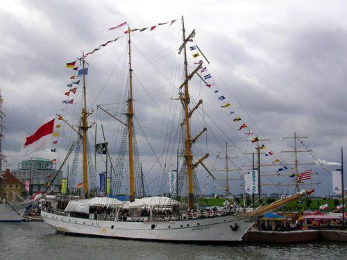 Dewaruci, Heinz Janssen, Sail Bremerhaven 2005 , 08/2005