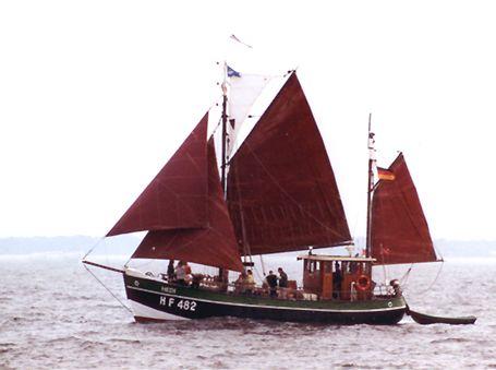 Hedi HF482, Volker Gries, Hanse Sail Rostock 2002 , 08/2002