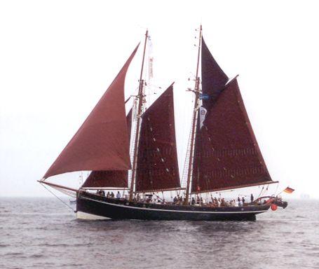 Atalanta, Volker Gries, Hanse Sail Rostock 2002 , 08/2002