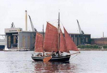Galatea von Buxtehude, Volker Gries, Rum-Regatta 2001 , 05/2001