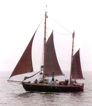 Isamar, Volker Gries, Hanse Sail Rostock 2002 , 08/2002