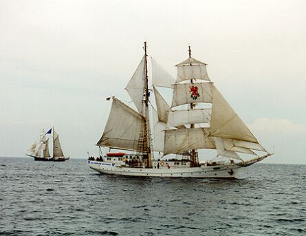 Greif, Volker Gries, Hanse Sail 1996 / Cutty Sark 1996 , 08/1996