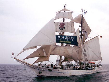 Greif, Volker Gries, Hanse Sail Rostock 2002 , 08/2002