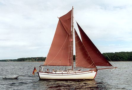 Anna von Brunsbüttel, Volker Gries, Rum-Regatta 2001 , 05/2001