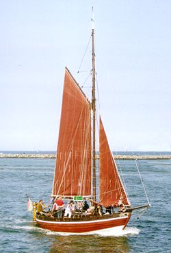 Biber 3, Volker Gries, Hanse Sail Rostock 2000 , 08/2000