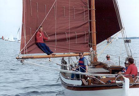 Skua, Volker Gries, Rum-Regatta 2001 , 05/2001