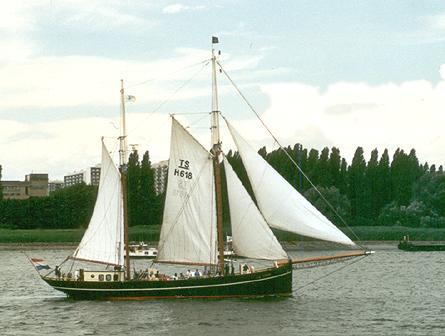 Lotos, Werner Jurkowski, Sail Antwerpen 2001 / Cutty Sark 2001 , 07/2001