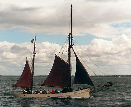 Iona, Volker Gries, Hanse Sail Rostock 2001 , 08/2001
