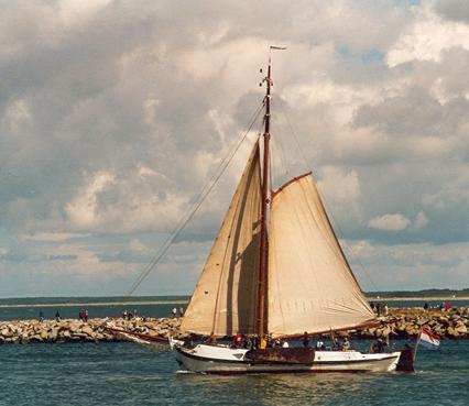 Bornrif, Volker Gries, Hanse Sail Rostock 2001 , 08/2001