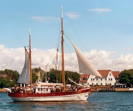 Antigua, Volker Gries, Hanse Sail Rostock 2001 , 08/2001