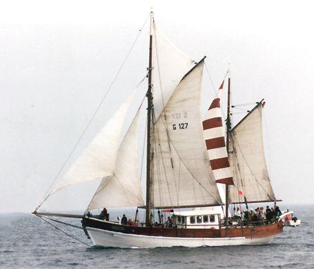 Antigua, Volker Gries, Hanse Sail Rostock 2002 , 08/2002