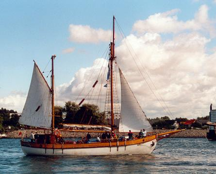 Bryza H, Volker Gries, Hanse Sail Rostock 2001 , 08/2001