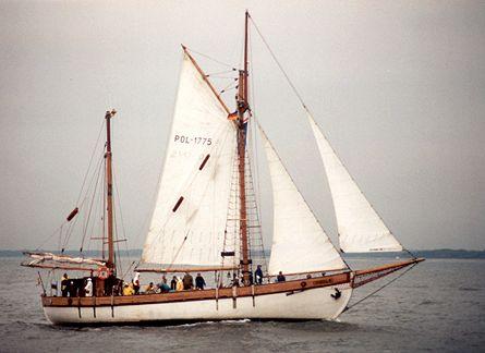 Bryza H, Werner Jurkowski, Hanse Sail Rostock 2001 , 08/2001